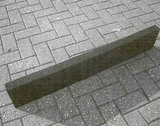 Price per 1 2m Strip - Rubber Kerb Edging For Playgrounds